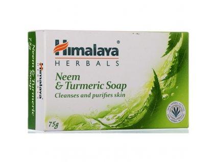 Himalaya mýdlo s neemem, citronem a kurkumou, 75 g