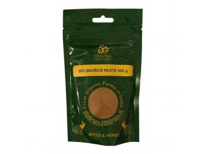 BIO Skořice mletá, 100 g, Healing Nature