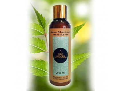 Ayursaveda šampon & kondicioner neem a aloe vera