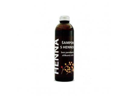 Šampon s Hennou, 200 ml