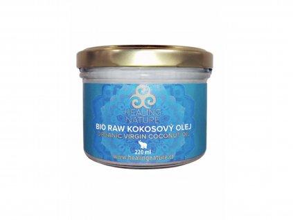 HN BIO RAW kokosový olej, 220 ml