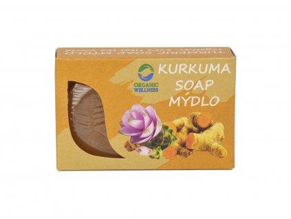 Kurkumové mýdlo, 70 g, Organic Wellness