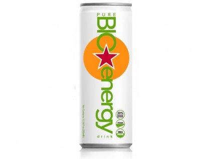 BIO Energy Drink broskev, 250 ml, Pure Bio Products