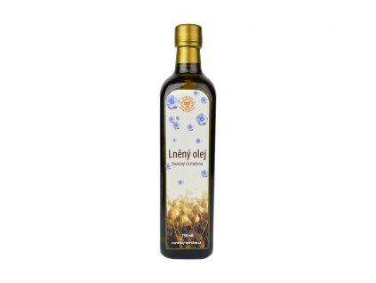 DS Lněný olej RAW, 750 ml