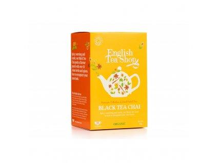 bio fairtrade cerny chai 20 sacku