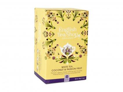 ETS Bílý čaj, kokos a mučenka, 20 sáčků