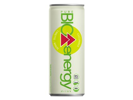 BIO Energy Drink okurka a limetka, 250 ml, Pure Bio Products