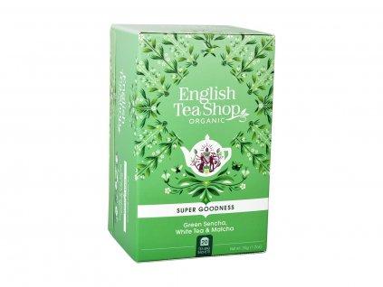 ETS Sencha, bílý čaj a matcha, 20 sáčků