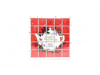 1381 english tea shop cerveny adventni kalendar puzzle 48 g 25 ks bio ets25