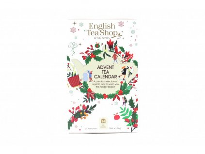1384 english tea shop bily adventni kalendar 36 g 24 ks bio ets24