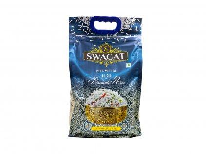 Rýže Basmati Premium, 5 kg, Swagat