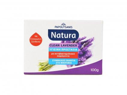 NATURA Antibakteriální Mýdlo Levandule, 100g