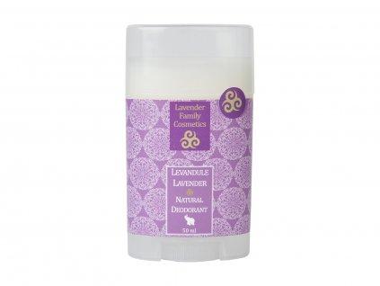 Deodorant Levandule, 50ml