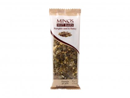 MINOS Dýňová semínka a med, 50 g