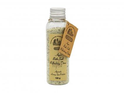 Koupelová sůl Refreshing citrus, 100 g
