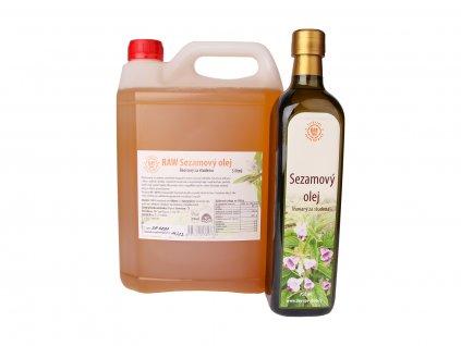 RAW Sezamový olej, 750 ml 5 l, Day Spa