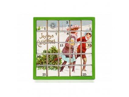 ETS Adventní kalendář - Radostné Vánoce, 25 pyramidek