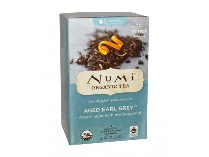 Numi Organic Tea Aged Earl Grey Earl Grey s bergamotem bio 18 sacku sku951
