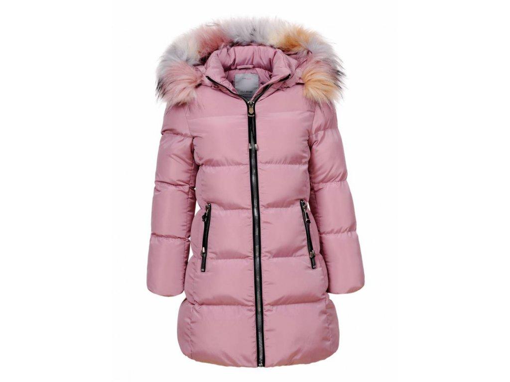 Dievčenská zimná bunda PRETY (Farba Ružová, Veľkosť 152/158)