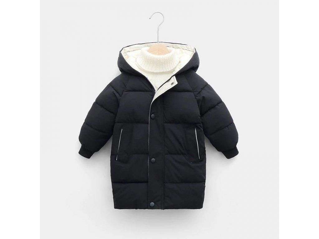 Chlapčenská zimná bunda THOR (Farba Zelená, Veľkosť 104/110)