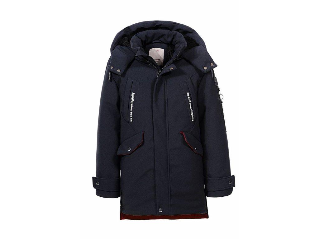 Chlapčenská zimná bunda OREGON (Farba Tmavozelená, Veľkosť 152/158)