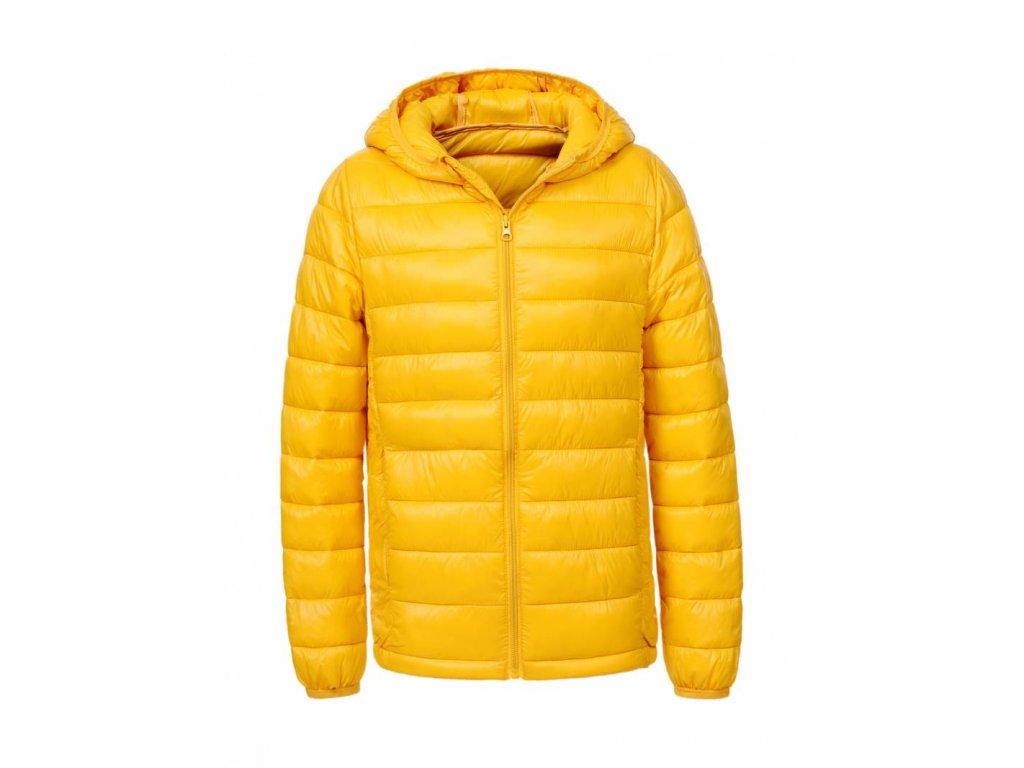 Chlapčenská žltá prechodná bunda CHILL (Farba Žlta, Veľkosť 152/158)