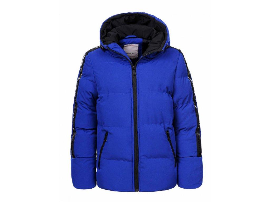 Chlapčenská zimná bunda VOR (Farba Modrá, Veľkosť 164)