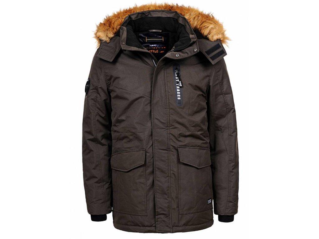 Pánska zimná bunda N5 (Farba Žlta, Veľkosť S)