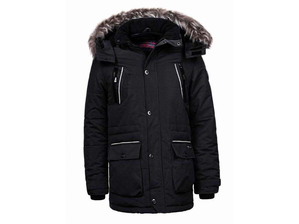 Pánska zimná bunda WOLF (Farba Tmavozelená, Veľkosť XL)