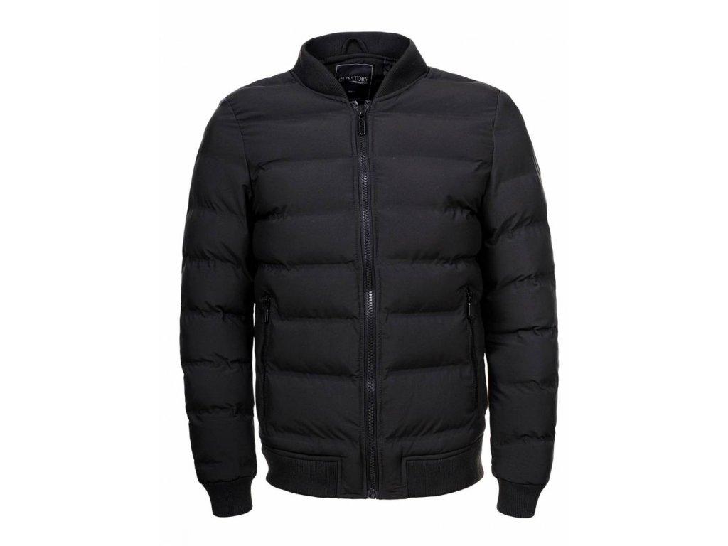 pánska bunda CITY (Farba Čierna, Veľkosť XL)