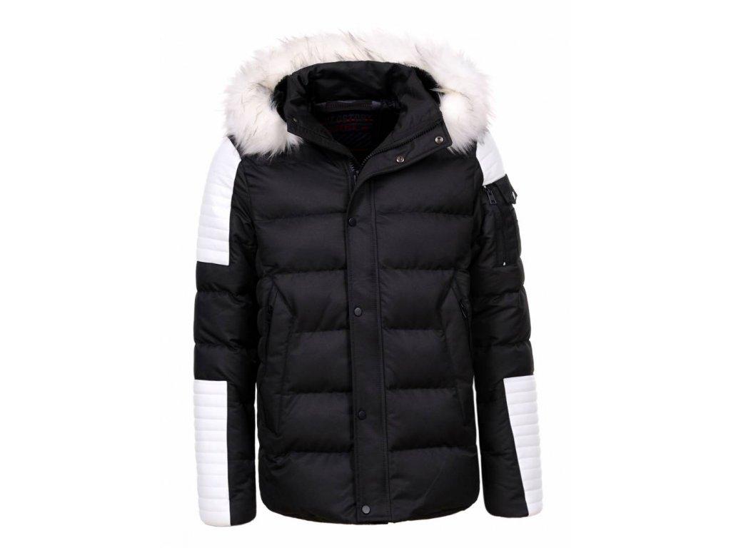 Pánska zimná bunda HELL (Farba Čierna, Veľkosť XL)
