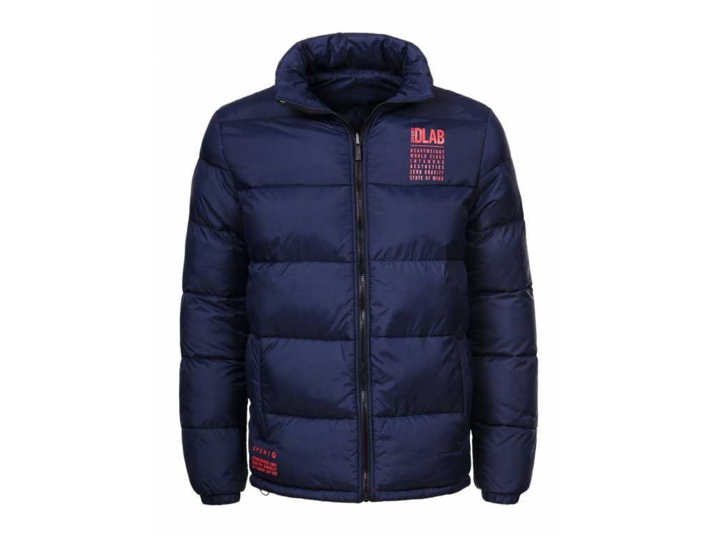 Pánska zimná bunda ZERO GRAVITY (Farba Červená, Veľkosť XL)