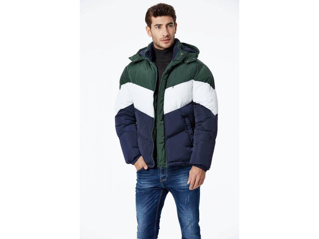 Pánska športová zimna bunda (Farba Zelená, Veľkosť 2XL)