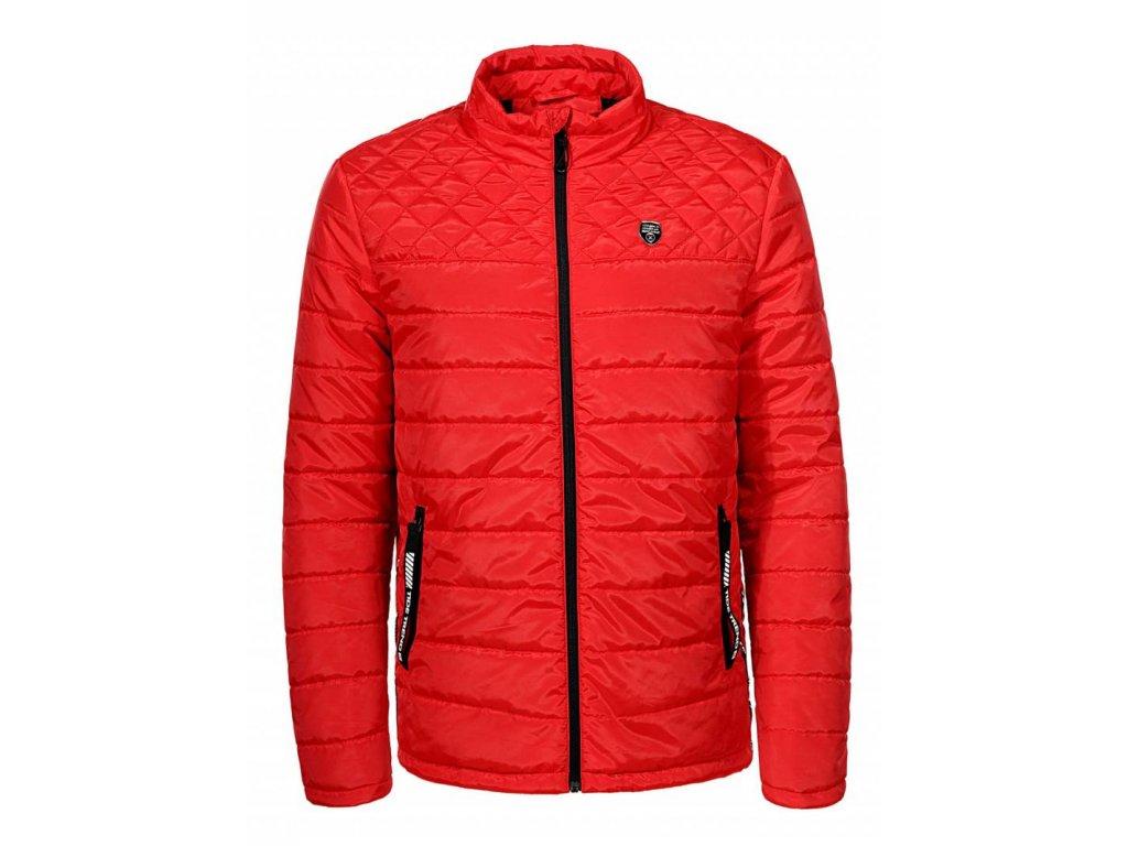 Pánska prechodná bunda (Farba Červená, Veľkosť XL)