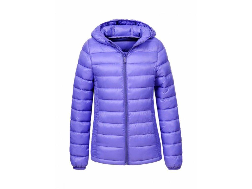 Dievčenská zimná bunda VISA (Farba Fialová, Veľkosť 152/158)