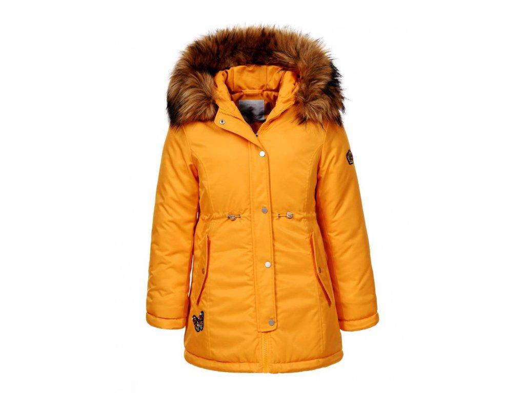 Dievčenská prechodná bunda (Farba Žlta, Veľkosť 152/158)