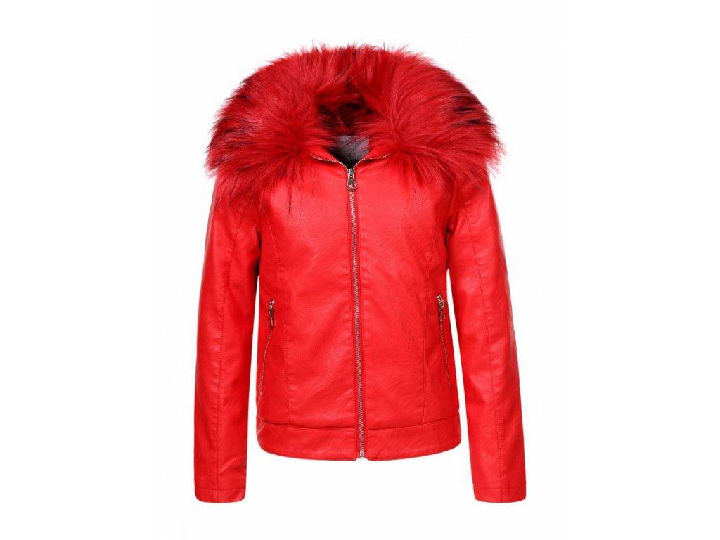 Dievčenská prechodná bunda (Farba Ružová, Veľkosť 152/158)