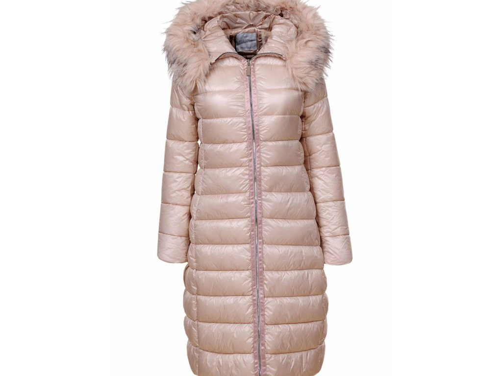 Dlha damska zimna bunda