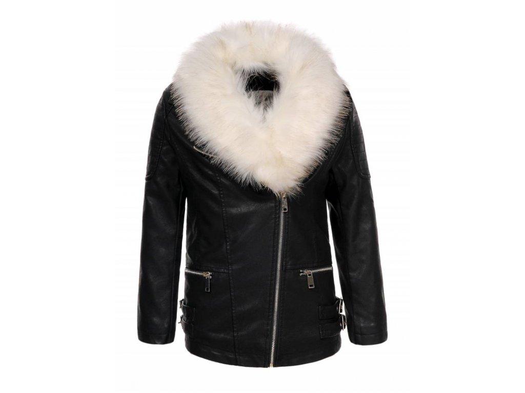 Dievčenská zimná bunda ECO (Farba Hnedá, Veľkosť 152/158)
