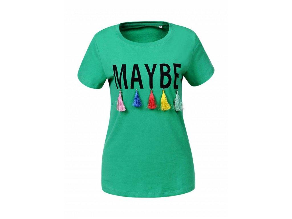 Dámske tričko VIX (Farba Zelená, Veľkosť S)