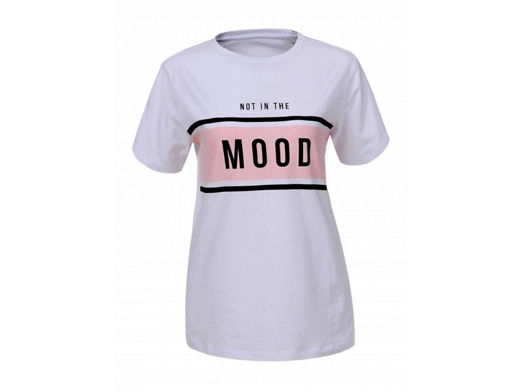 Dámske tričko NICE (Farba Fialová, Veľkosť XL)