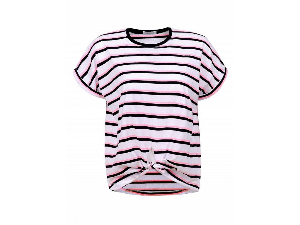 Dámske prúžkované tričko (Farba Farebná, Veľkosť XL)