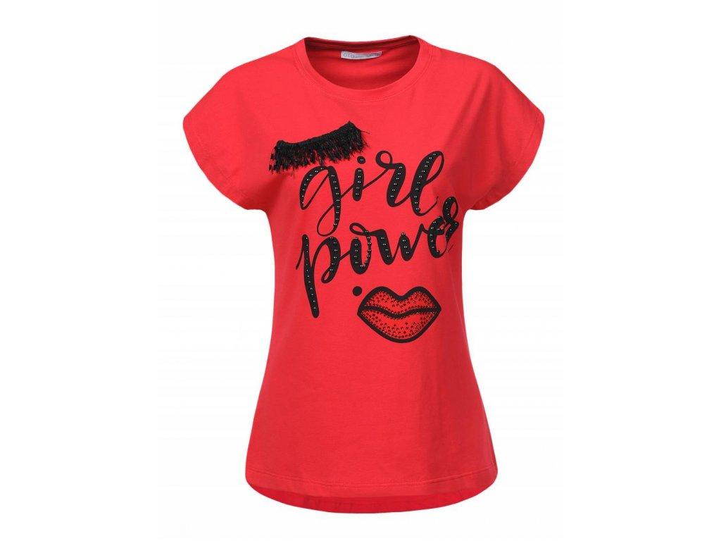 Dámske tričko FACEXIK (Farba Čierna, Veľkosť XL)