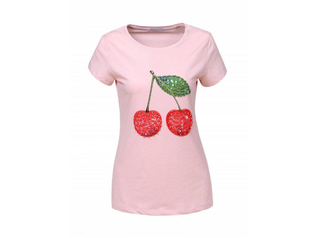 Dámske tričko RIPPLE (Farba Ružová, Veľkosť XL)
