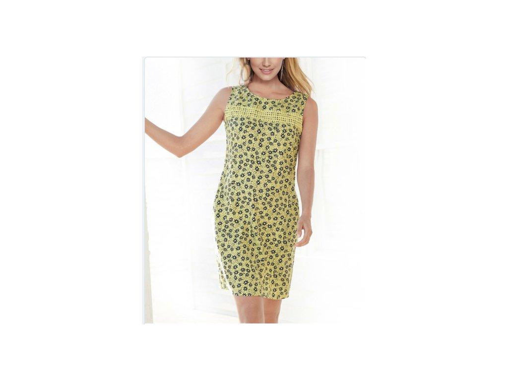 Dámske šaty NOVA (Farba Zelená, Veľkosť 2XL)