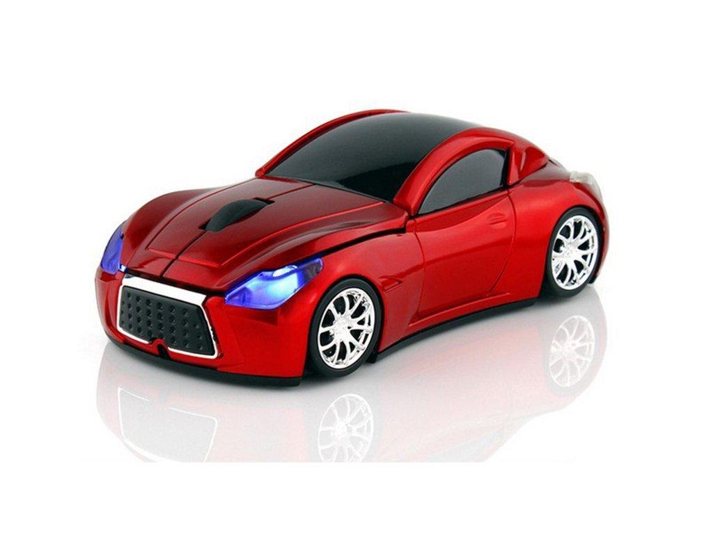 1154 bezdrotova mys sportove auto 4 farby farba cervena