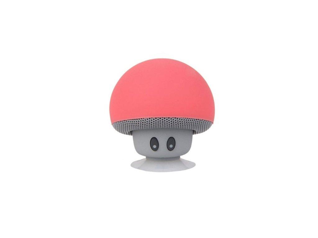 1187 bezdrotovy prenosny reproduktor v tvare huby 6 farieb farba cervena