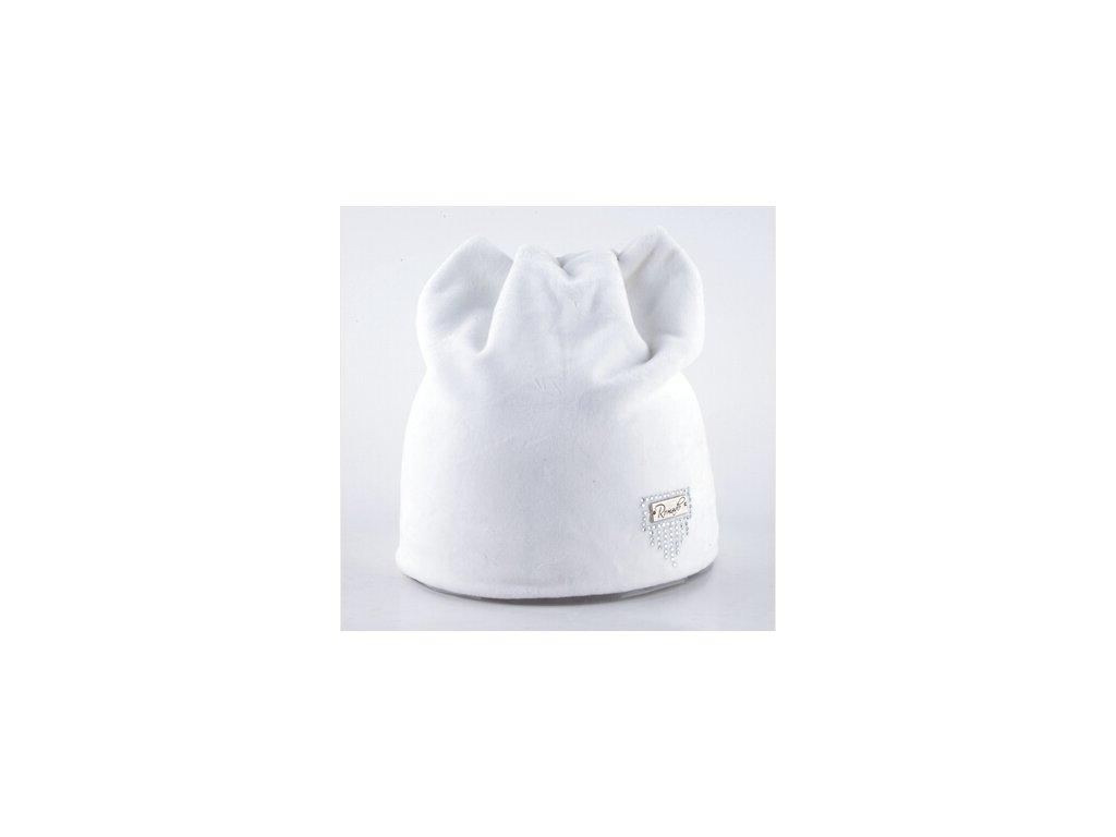 1340 damska ciapka v zaujimavom dizajne 5 farieb farba biela