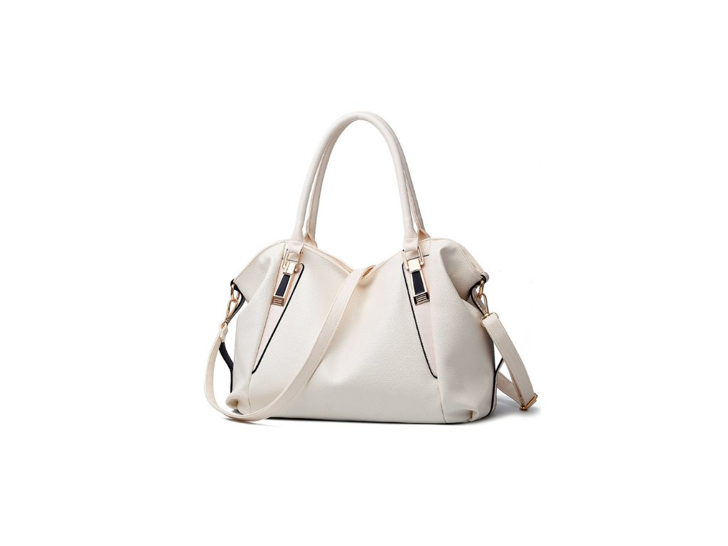 1427 damska kabelka luisa 6 farieb farba biela