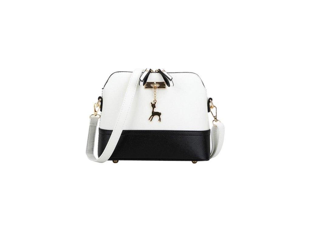 1430 damska kabelka v nadhernom dizajne biela